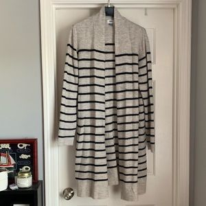 Old Navy Striped Duster Cardigan